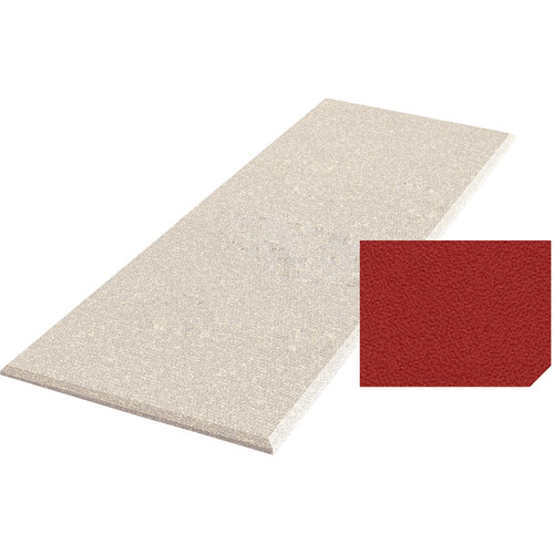 "Auralex ProPanel Fabric-Wrapped Acoustical Absorption Panel with Clouds (2"" x 4' x 8', Straight, Poppy)"