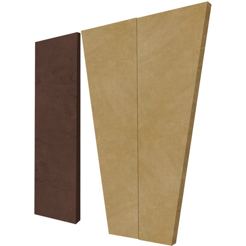 Auralex S3HT SonoSuede HT Sound Absorption System (8 Tan Trapezoid Panels, 4 Brown Corner Panels)