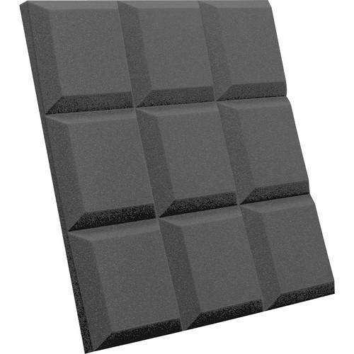 Auralex SonoFlat Grid Sound Absorption Panels (16-Pack, Charcoal Gray)