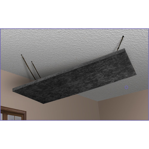 Auralex SonoLite Cloud 2 x 4' Panel with Fly Point Hardware (Single, Black)