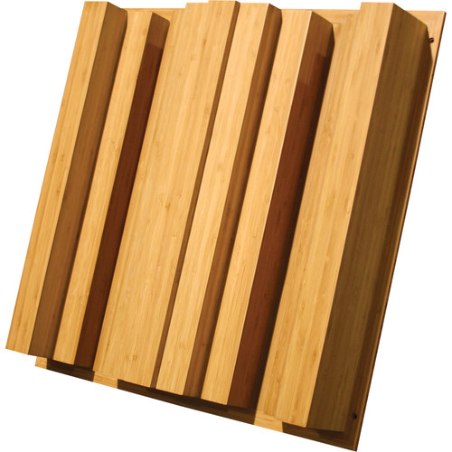 """Auralex Sustain QuadraTec - Bamboo Sound Diffusor for Wall or Ceiling Grids Mounting (4.1 x 23.75 x 23.75"""", Pair)"""