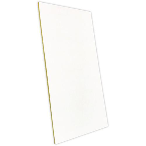 """Auralex T-Coustics 24 Ceiling Acoustical Absorption Tile (1 x 23.675 x 47.675"""", White)"""