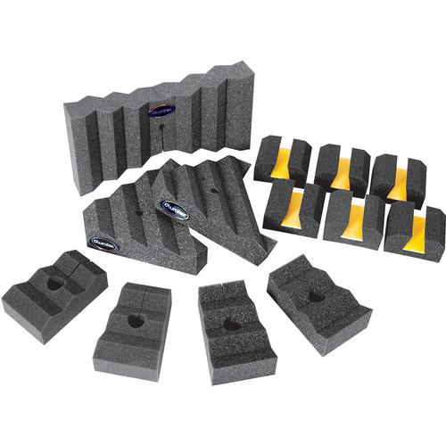 Auralex Aural Xpander Set with Baffles and Sound Isolation Platforms