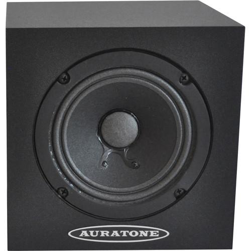 Auratone 5C Super Sound Cube Passive Studio Monitor (Black Laminate Finish, Single)
