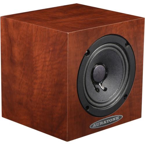 Auratone 5C Super Sound Cube Passive Studio Monitors (Mahogany Laminate Finish, Pair)