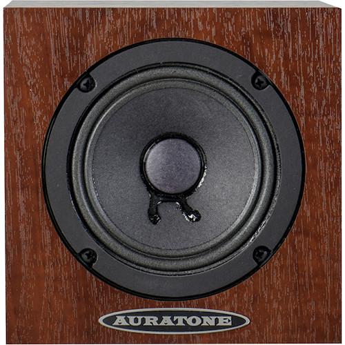 Auratone 5C Super Sound Cube Passive Studio Monitor (Mahogany Laminate Finish, Single)