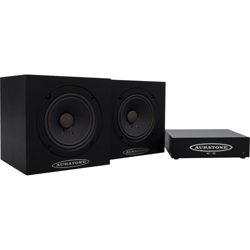 Auratone 5C Super Sound Cubes with A2-30 Amp Bundle (2 Speakers, 1 Amp)