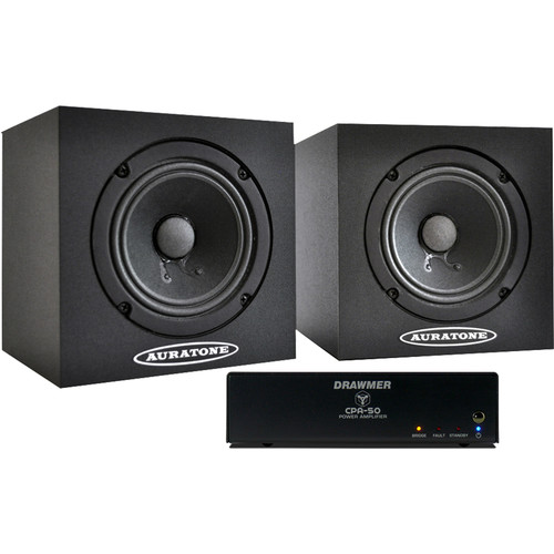 Auratone 5C Monitors with CPA50 Stereo Power Amp (Pair)