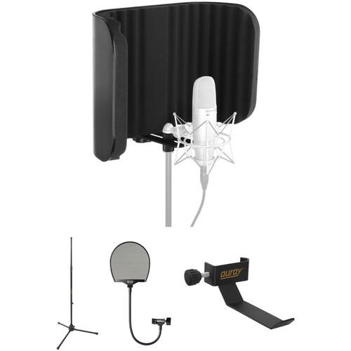 Auray Acoustic Isolation Vocal Kit