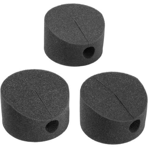 Auray ISO-FEET Microphone-Stand Isolation Pads (3-Pack)