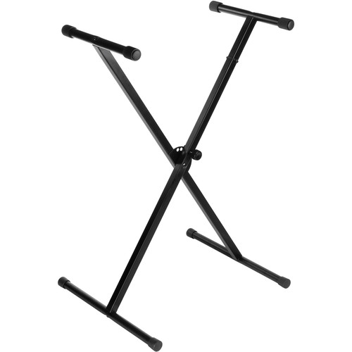Auray KSP-1X - Single-X Keyboard Stand with Pull Knob Lock
