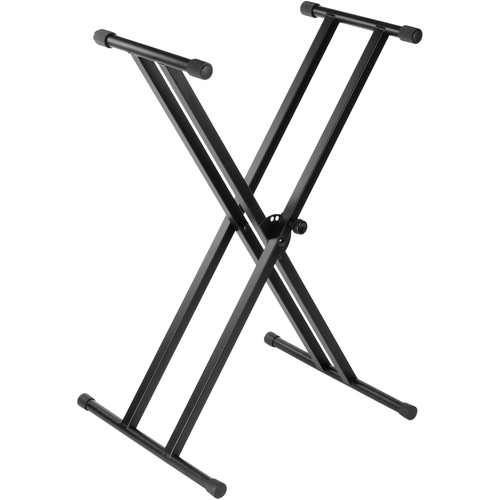 Auray KSP-2X - Double-X Keyboard Stand with Pull Knob Lock
