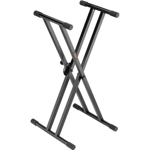 Auray KSPL-2X Double-X Keyboard Stand with Pull Lock