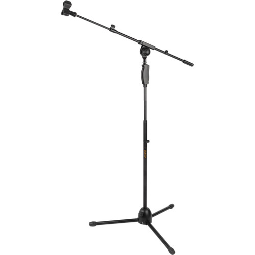Auray MS-65CL Professional Mic Stand with Clutch Lock and Telescoping Boom Arm