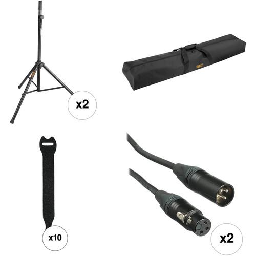 Auray PA Speaker Essential Accessories Kit (Pair)
