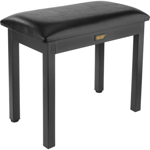Auray PBM-FF Metal Frame Piano Bench (Black)