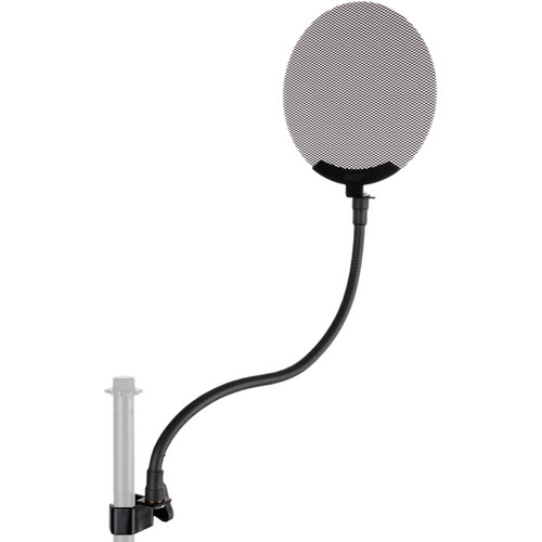 "Auray PFMR Metal Pop Filter with Gooseneck (5.5"")"