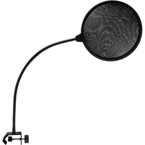 Auray PFNY-6 Nylon Pop Filter with Gooseneck and C-Style Clamp