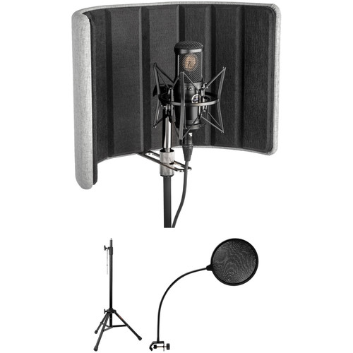 Auray RF-C17 Studio Isolation Filter Kit with Stand and Pop Filter