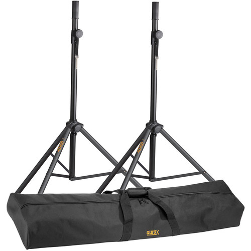 Auray Speaker Stand Kit with Carrying Bag (Pair)