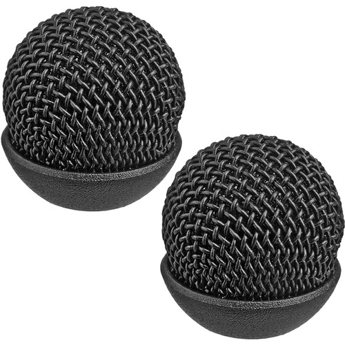 Auray Metal Windscreen for ECM-77 Lavalier Microphone (2-Pack)