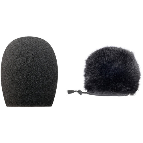 Auray WRF-H1 Foam Windscreen and Fur Windshield Kit for H1 and H1n Recorders