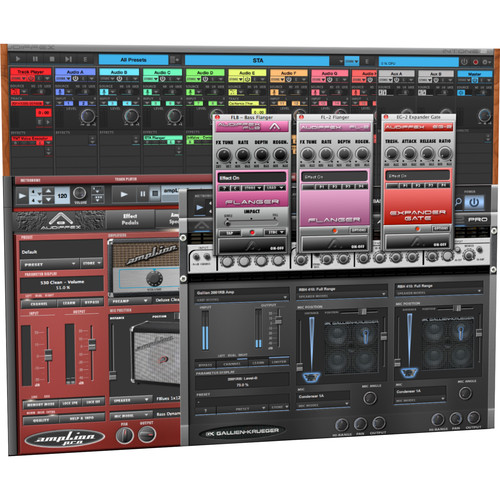 AUDIFIED Live Guitar and Bass Bundle - Guitar Production Plug-In Collection