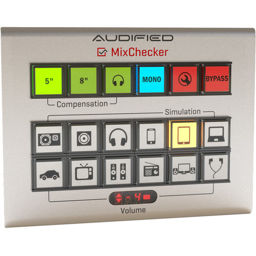 AUDIFIED MixChecker 1.1 - Monitor Simulation Plug-In (Download)