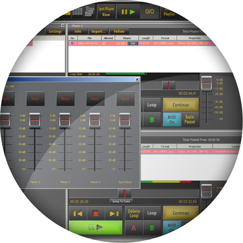 AUDIFIED SceneFlow Classic - Multi-Player Audio Software (Download)