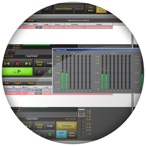 AUDIFIED SceneFlow Express - Multi-Player Audio Software (Download)