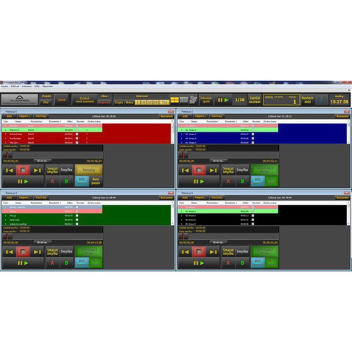 AUDIFIED SceneFlow Pro - Multi-Player Audio Software (Download)