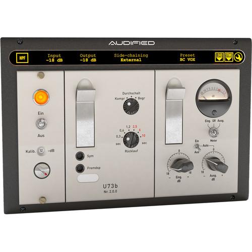 AUDIFIED u73b Compressor Version 2 - Dynamics Plug-In (Download)