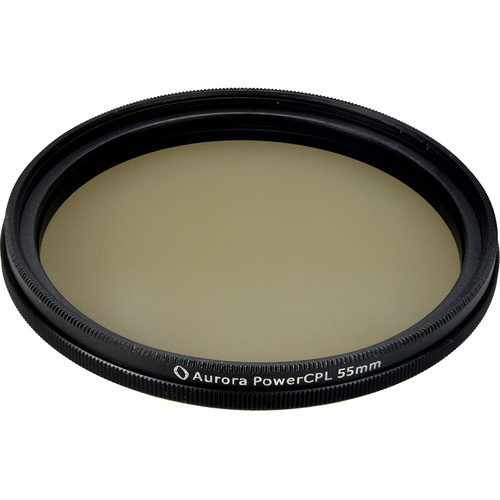 Aurora-Aperture PowerCPL 55mm Gorilla Glass Circular Polarizer Filter