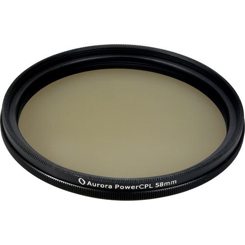 Aurora-Aperture PowerCPL 58mm Gorilla Glass Circular Polarizer Filter