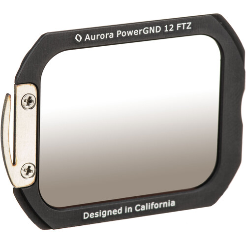 Aurora-Aperture Adapter Mount Format PowerGND 1.05 Filter for Nikon FTZ Lens Mount Adapter (3.5-Stop)