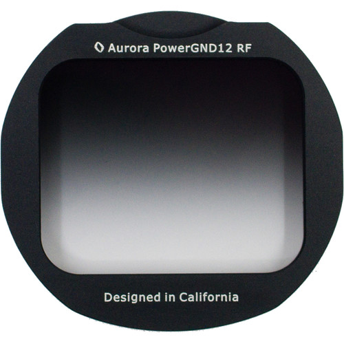 Aurora-Aperture Adapter Mount Format PowerGND 1.05 Filter for Canon EF-EOS R Lens Mount Adapter (3.5-Stop)