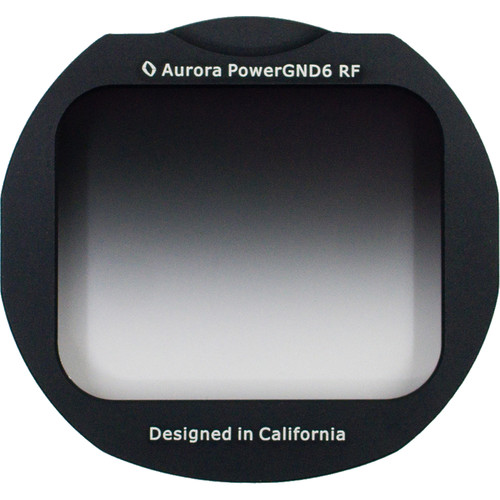 Aurora-Aperture Adapter Mount Format PowerGND 0.75 Filter for Canon EF-EOS R Lens Mount Adapter (2.5-Stop)