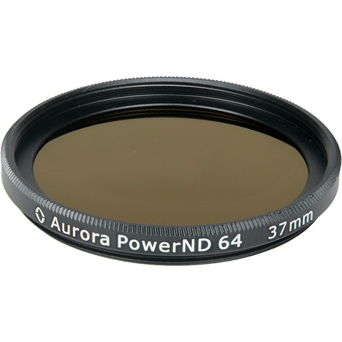 Aurora-Aperture PowerND ND64 37mm Neutral Density 1.8 Filter