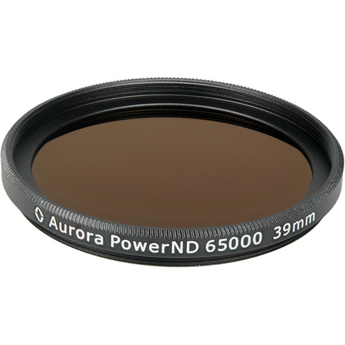 Aurora-Aperture PowerND ND65000 39mm ND 4.8 Filter (16-Stop)