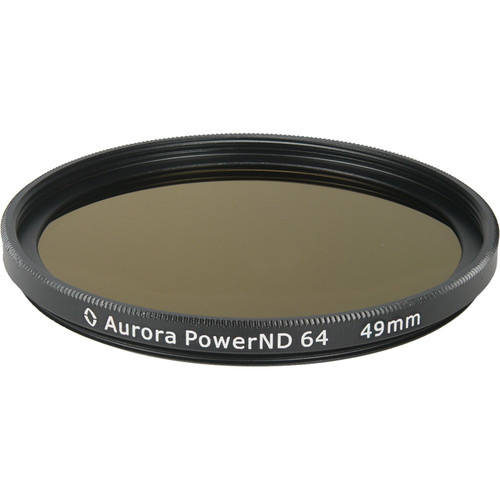 Aurora-Aperture PowerND ND64 49mm Neutral Density 1.8 Filter