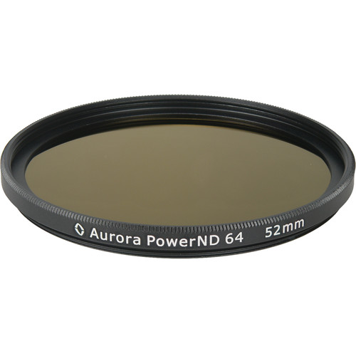 Aurora-Aperture PowerND ND64 52mm ND 1.8 Filter (6-Stop)