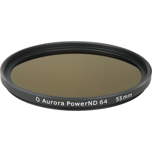 Aurora-Aperture PowerND ND64 55mm Neutral Density 1.8 Filter