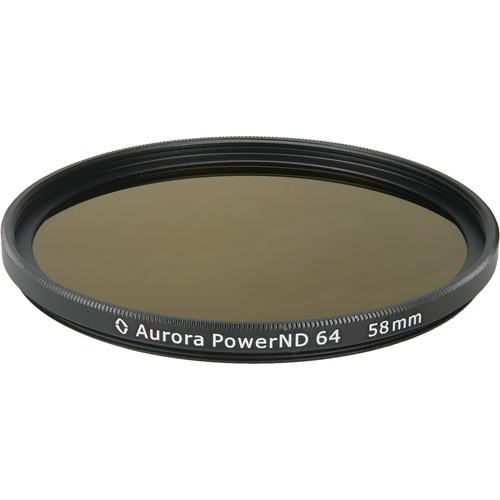 Aurora-Aperture PowerND ND64 58mm ND 1.8 Filter (6-Stop)
