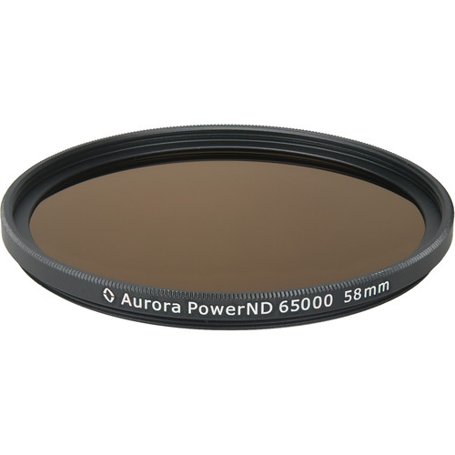Aurora-Aperture PowerND ND65000 58mm Neutral Density 4.8 Filter