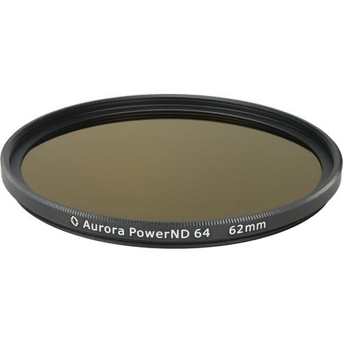 Aurora-Aperture PowerND ND64 62mm ND 1.8 Filter (6-Stop)