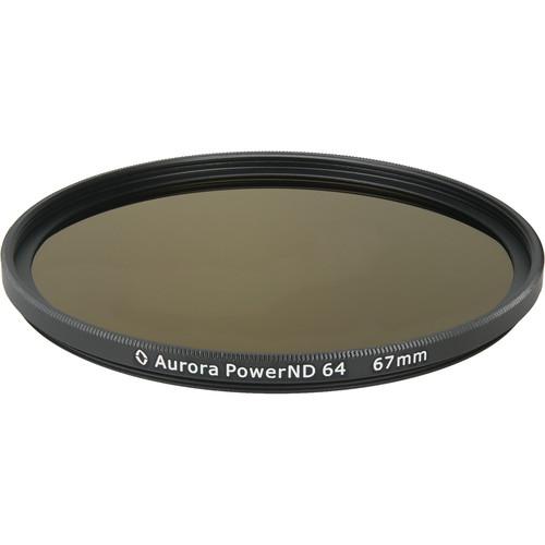 Aurora-Aperture PowerND ND64 67mm ND 1.8 Filter (6-Stop)