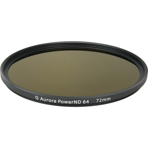 Aurora-Aperture PowerND ND64 72mm ND 1.8 Filter (6-Stop)