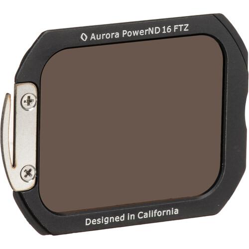 Aurora-Aperture Adapter Mount Format PowerND 1.2 Filter for Nikon FTZ Lens Mount Adapter (4-Stop)