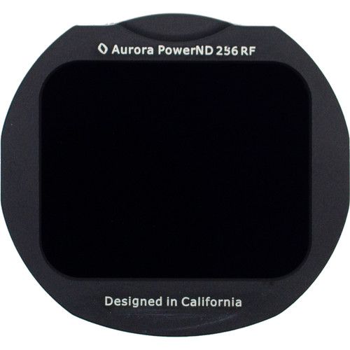 Aurora-Aperture Adapter Mount Format PowerND 2.4 Filter for Canon EF-EOS R Lens Mount Adapter (8-Stop)