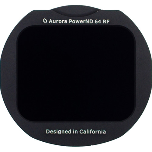 Aurora-Aperture Adapter Mount Format PowerND 1.8 Filter for Canon EF-EOS R Lens Mount Adapter (6-Stop)